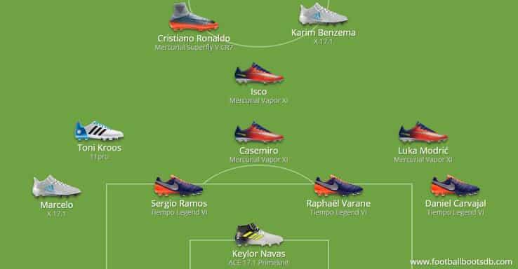 Her er støvlerne som spillerne bar under Champions League finalen 3
