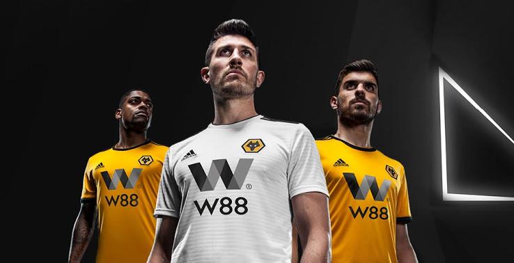 adidas Wolverhampton 2018/19 Hjemmebane- og Udebanetrøje 1