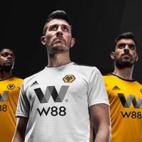 adidas Wolverhampton 2018/19 Hjemmebane- og Udebanetrøje
