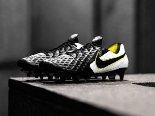 Nike præsenterer den sæsonpassende Tiempo Legend VIII (Sort/Volt) 13
