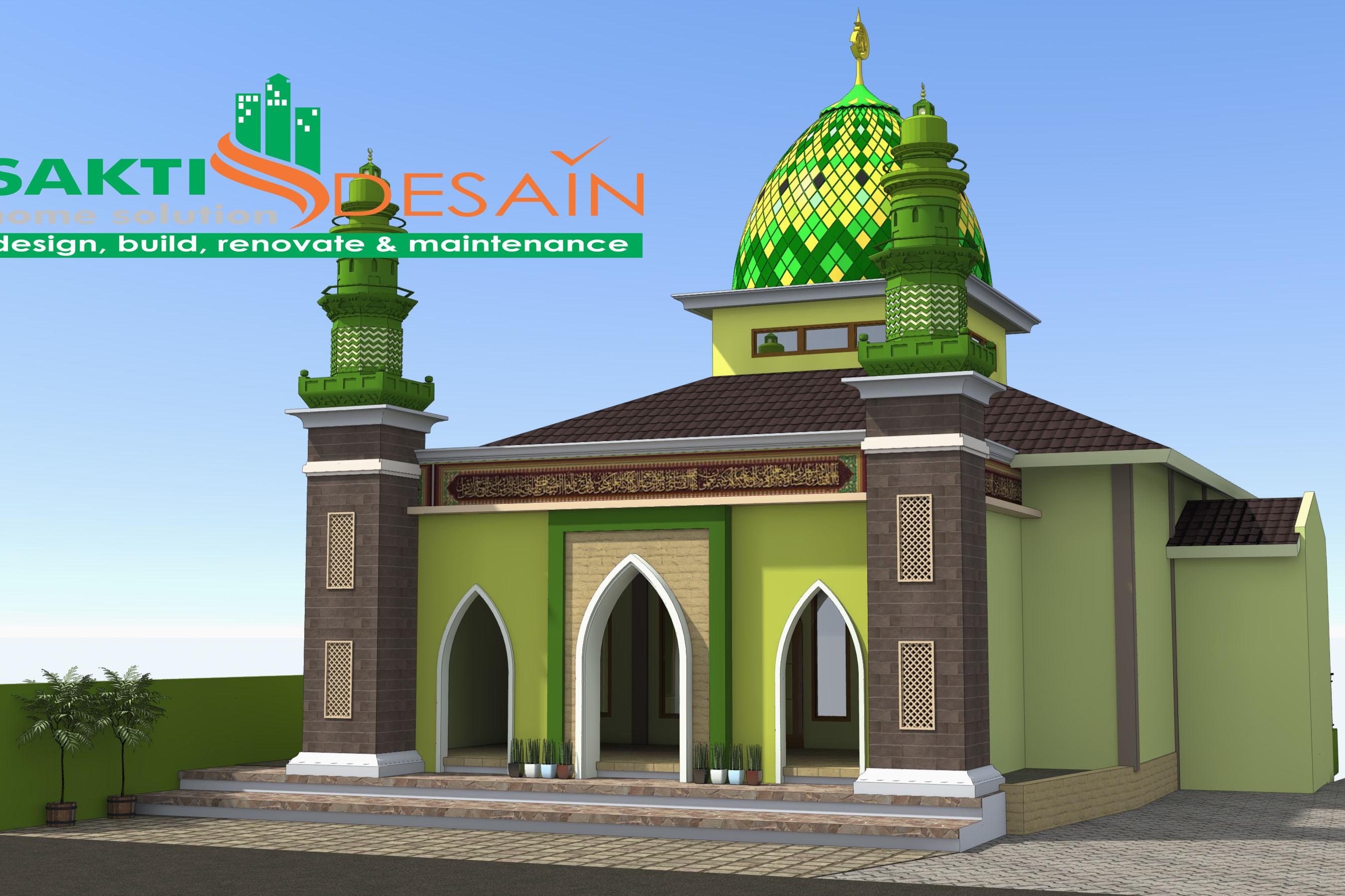 Masjid Kalibawang  SAKTI DESAIN