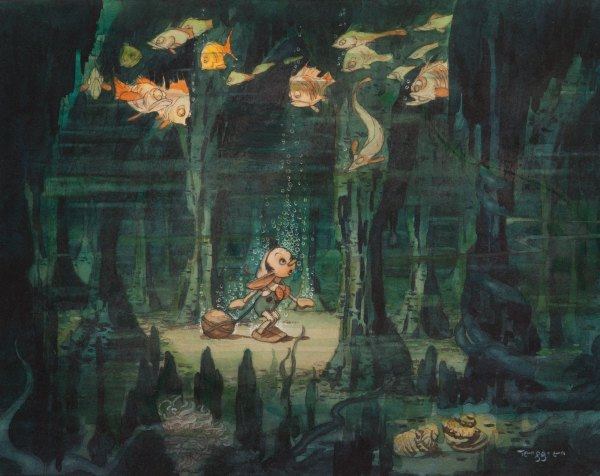 Disney Pinocchio Concept Art