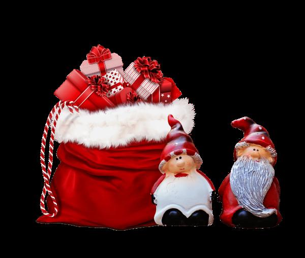 Xmas Presents Gifts Grnomes Bag  - ArtsyBee / Pixabay