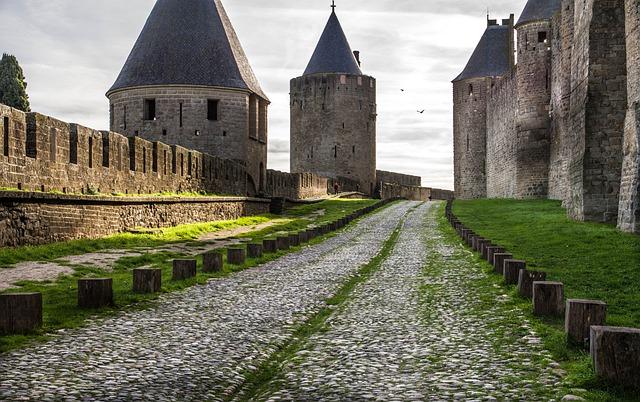 France Carcassonne Castle Medieval  - jackmac34 / Pixabay