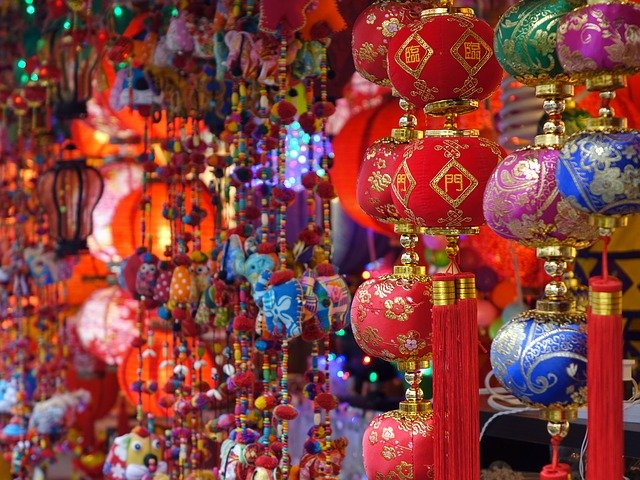 Singapore China Town Colorful  - cegoh / Pixabay