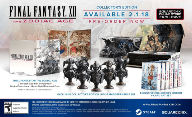 FF XII Collector Edition