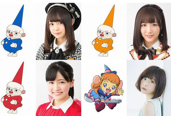Four Idol Cast of Shimajiro
