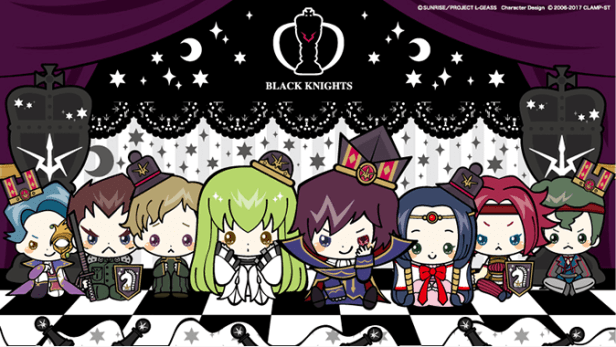 Geass Black Knights Sanrio