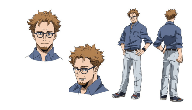 David Character Visual