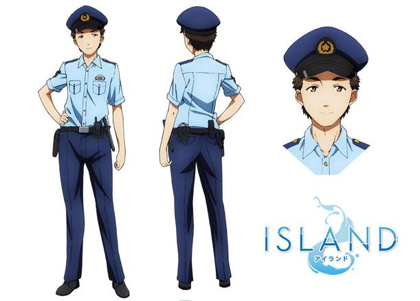 Island Policemen Character