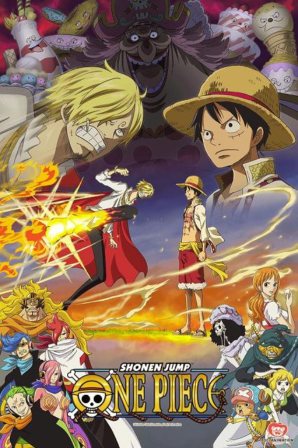 One Piece Visual Stream Poster