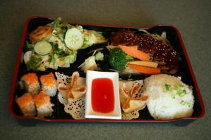 Sakura Dinner Entrée sushi