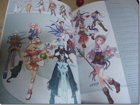 Atelier Series Official Chronicle 「アトリエシリース オフィシャル クロニクル」 inside art