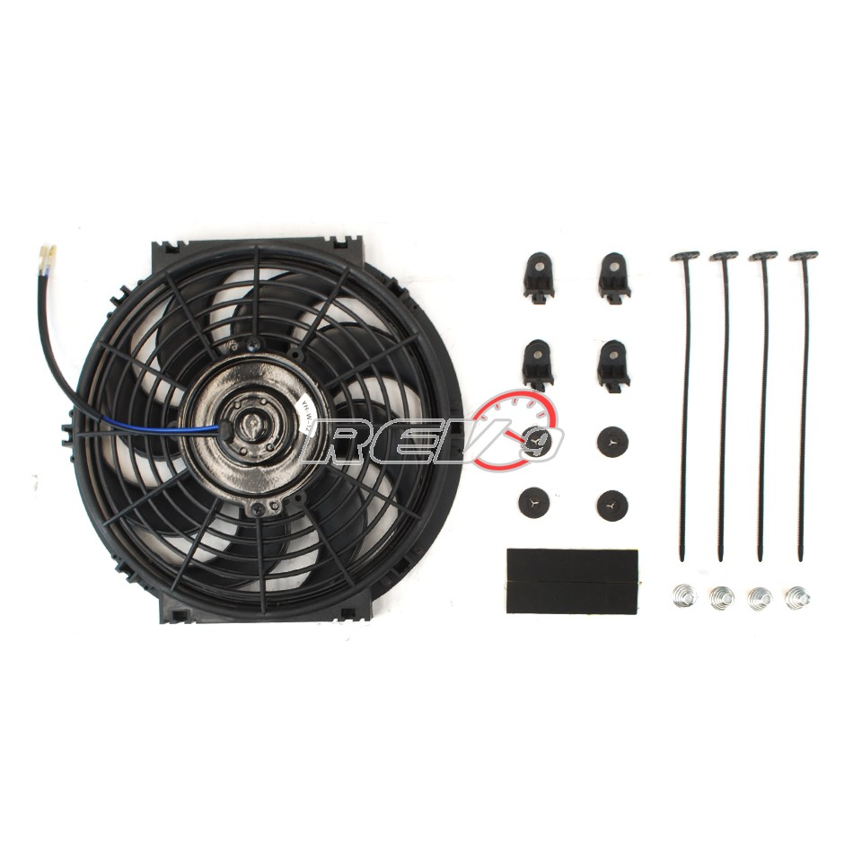 Including 2 X 12quot Electric Slim Fan With Mounting Hardware 1250 Cfm