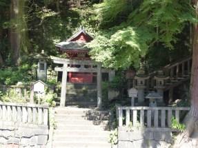 Sanctuaire au bout du Shinkyo