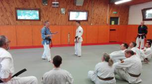 Souvenir de l'Ecole des Cadres de Nihon-Taï-Jitsu, Juin 2017