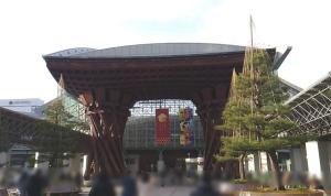 金沢駅正面