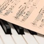 ピアノ楽譜音楽音符
