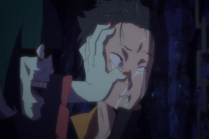 スバルを痛み付ける ペテルギウス