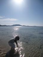 石垣島のカフェ&カレー「トラベラーズカフェ朔」の海のイメージ写真