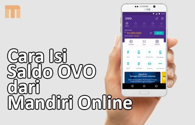 Cara Isi Saldo OVO dari Mandiri Online