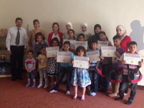 Graduation at the Malki-SCM Center