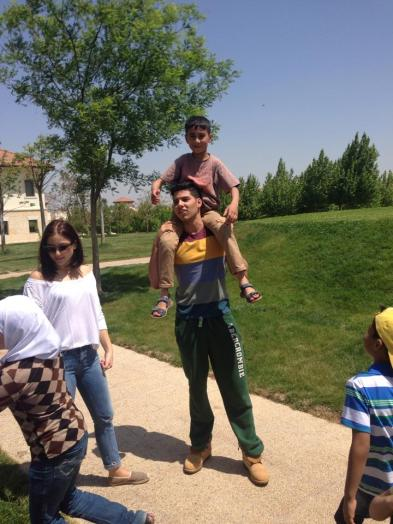 Field trip for the graduating class of the Malki-SCM Center