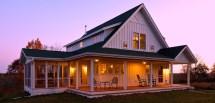 Farmhouse House Plans with Porches