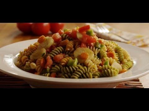 How to Make Veggie Pasta Salad | Pasta Recipe | Allrecipes.com
