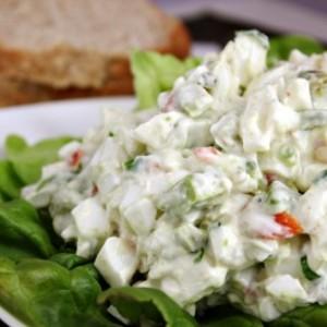 Heart-Healthy No Yolk Egg Salad