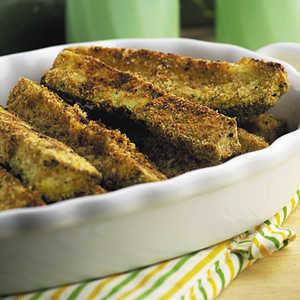 Parmesan Zucchini Sticks