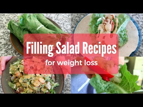 Filling Salad Recipes for Weight Loss | Easy, Delicious + Vegan!