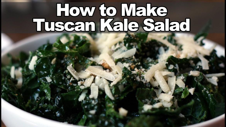 How to Make Tuscan Kale Salad – True Food Kitchen Recipe