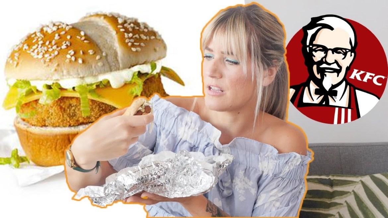 I Ordered Everything VEGAN at KFC | KFC Vegan Chicken Fast Food Taste Test | The Edgy Veg
