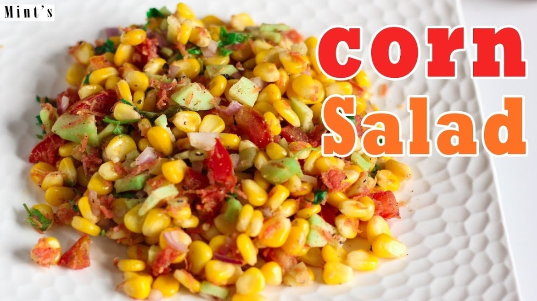 Sweet Corn Salad Recipe – Easy Salad Recipe In Hindi