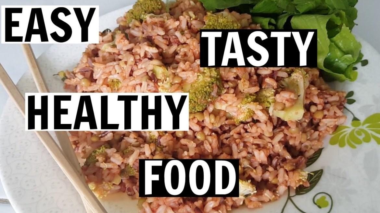 TASTY RICE SALAD RECIPE | No Fuss Food