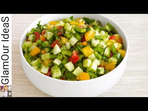 High Protein Salad Recipe | Best Weight loss Salad | Easy and healthy Salad Recipe | GlamOur IdeaS |