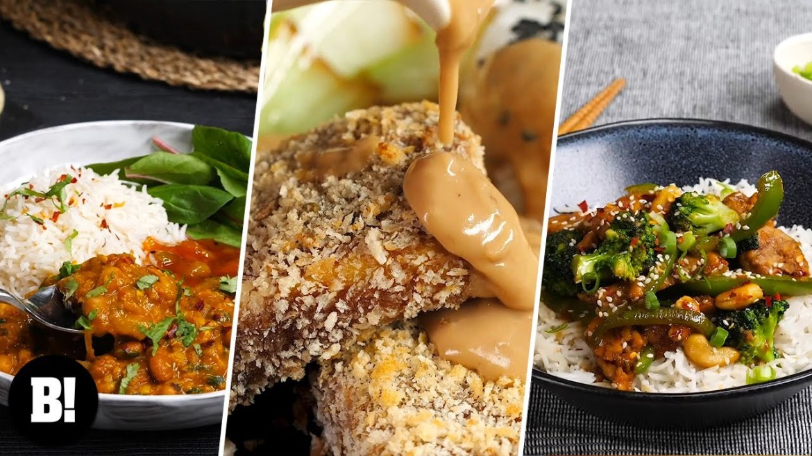 5 PROTEIN PACKED VEGAN RECIPES