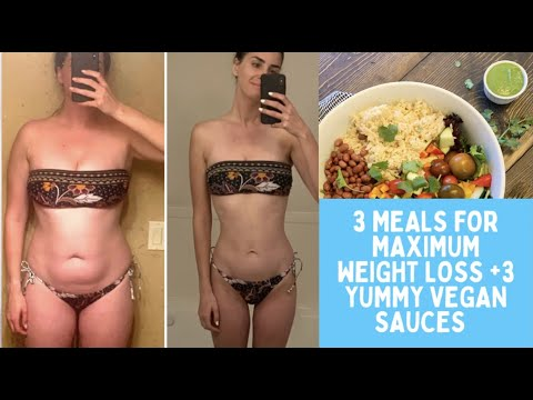 Starch Solution Meals for Maximum Weight Loss + 3 EASY VEGAN SAUCES/ Low Calorie Density Meals/ WFPB
