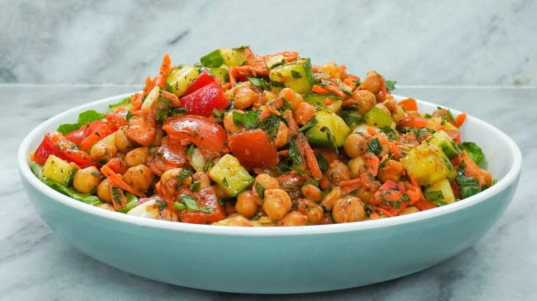 Ultimate Chickpea Salad (Plant-based & Vegan) | How to make Chickpea Salad | Vegan Chickpea Salad
