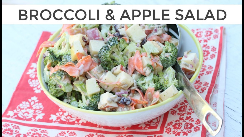 Broccoli + Apple Salad   Clean & Delicious