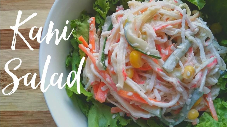 Japanese Kani Salad Recipe | Healthy Foodie