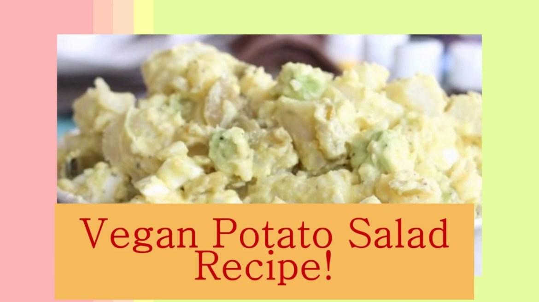 Vegan Potato Salad Recipe!