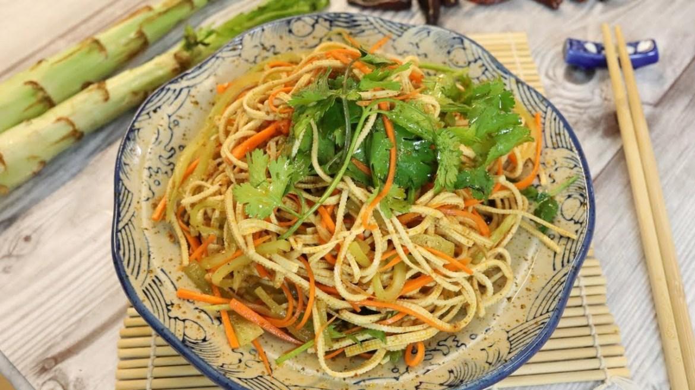 Spicy Tofu Salad Recipe