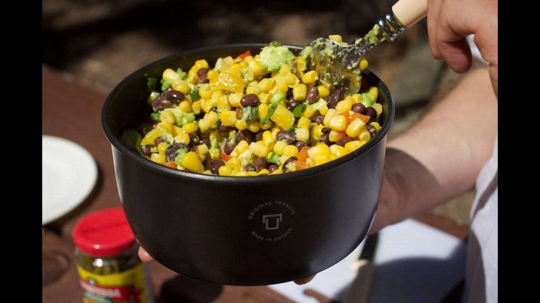 Vegan Black Bean & Avo Salad Recipe