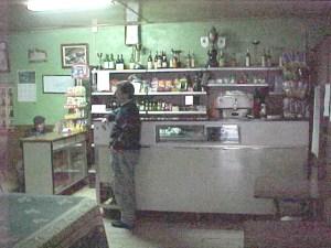 Sala do Café onde ocorreu o crime