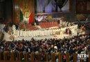 Peregrinos cantan las mañanitas a la Virgen de Guadalupe