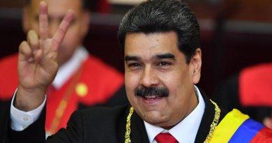 """Maduro grita """"Viva México"""" al reelegirse"""