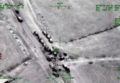 Militares usan visión nocturna en avión y helicóptero para detectar huachicoleros