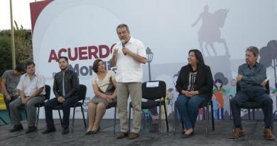 Arrancan acuerdo por Morelia en 24 colonias